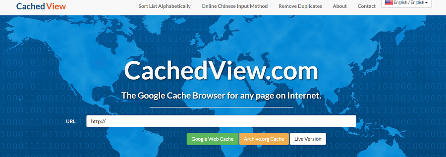 cached view