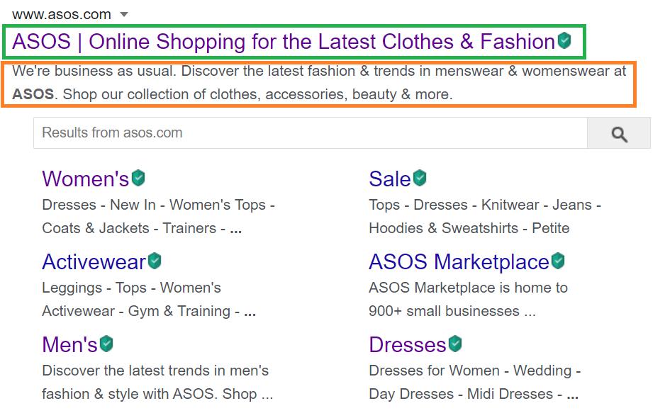 Homepage SEO Title Tag & Meta Description